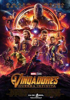 O encontro de heróis mais épico que você já viu! Confira o novo pôster de Vingadores: Guerra Infinita. . #Avengers #Vingadores #GuerraInfinita #Marvel
