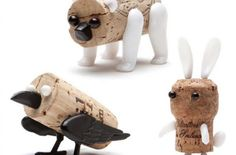 Corkers turn wine corks into cute tchotchkes