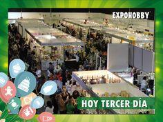 YA COMIENZA!! HOY TERCER DÍA! Vení y encontrá todo lo que buscas!! #Expohobby #Fiestas #Decoración #Veni #EncontraLoQueBuscas #Buses #Talleres #VentaDeInsumos #MesasExpositoras #LosMejoresProfesionales #LasMejoresMarcas #Ambientaciones #Shows #CabinaSelfie #Sorteos #GrandesPremios #Hoy #TengoGanasDe #IrAExpohobby