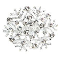 Snowflake Enamel Pin Jewelry