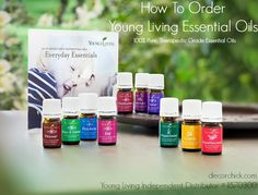 How To Order Young Living Essential Oils | www.decorchick.com