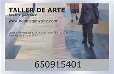 Cartel de acceso a Taller de Arte Beatriz Gonzalez  C/ Padre Suárez, 11 - 2º Izq LAT  /   33009 Oviedo  www.beatrizgonzalez.com