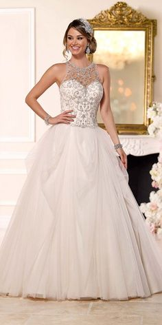 Stella York Wedding Dresses - Search our photo gallery for pictures of wedding dresses by Stella York. Find the perfect dress with recent Stella York photos. 2016 Wedding Dresses, Wedding Dresses Photos, Tulle Wedding, Wedding Dress Styles, Wedding Bride, Bridal Dresses, Wedding Gowns, Dresses 2016, Wedding Ceremonies