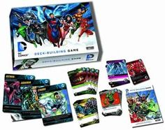 DC Comics Deck Building Game