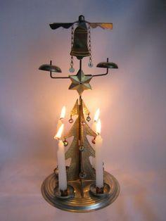 Otočný vánoční stromeček