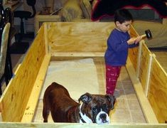 How to Make a Whelping Box