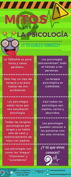 #MitosSobreLaPsicología -Salud Mental-
