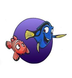 *MARLIN & DORY ~ Finding Nemo, 2003