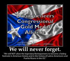 We will never forget.  http://www.facebook.com/BorinqueneersCGMAlliance