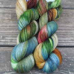 Celebration - Northumbria Fingering - Babette | Miss Babs Hand-Dyed Yarns & Fibers, Inc.
