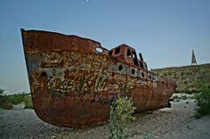 The Arl Sea - Kazakhstan's Ship Cemetery