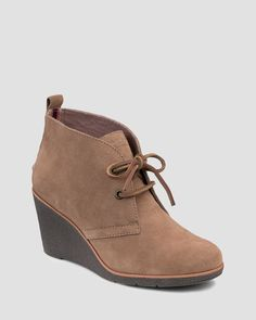 Sperry Lace Up Platform Wedge Booties - Harlow