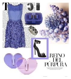 """""""The Peri to My Winkle"""" by christined1960 ❤ liked on Polyvore featuring Veritas, Blugirl, Giuseppe Zanotti, Christian Louboutin and Suzy Levian"""