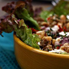 Warm Lentil Salad (from Erin of Fresh365)