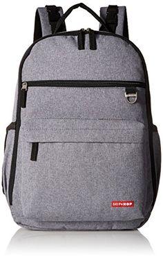 Skip Hop Duo Signature Diaper Backpack, Heather Grey Skip... https://www.amazon.com/dp/B01AFQI456/ref=cm_sw_r_pi_dp_x_8gv3ybH90ARC4