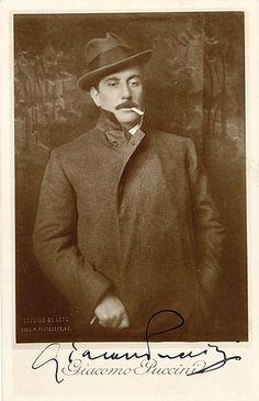 Giacomo PUCCINI Vintage Photo SIGNED (Lucca, 22 dicembre 1858 – Bruxelles, 29 novembre 1924) è stato un compositore italiano, considerato uno dei massimi operisti della storia.   #TuscanyAgriturismoGiratola