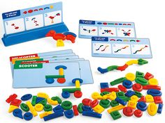 Centro de aprendizaje temprano figuras Build It Starter Set