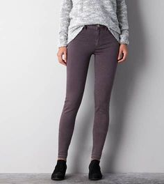 AEO denim X sky high jegging. They have a light acid wash print. Worn once. Pants For Women, Clothes For Women, American Eagle Men, Mens Outfitters, Jeggings, Lounge Wear, American Eagle Outfitters, Active Wear, Sky High