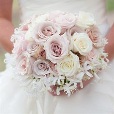 Would LOVE to have some midnight jasmine in Bouquet. We both love the smell and it will away remind us of when we got married. The perfect color.... Rose Bridal Bouquet