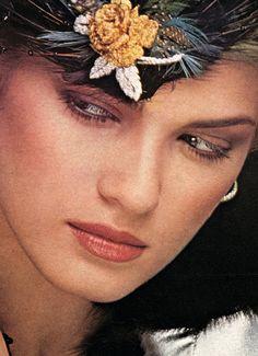 Gia Carangi photographed by Albert Watson, 1978