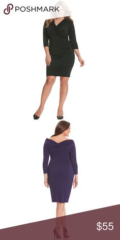 Lane Bryant Portrait Neck Dress Size 20 Stylish and sexy, this dress is perfect for your upcoming holiday parties!!! 🎄🎄🎄 Lane Bryant Dresses