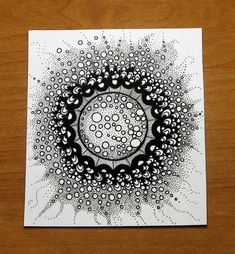40 Absolutely Beautiful Zentangle patterns For Many Uses - Bored Art - Zendoodle Doodles easy Doodles Zentangles, Tangle Doodle, Zentangle Drawings, Zen Doodle, Doodle Drawings, Doodle Art, Zentangle Art Ideas, Easy Zentangle Patterns, Pencil Drawings