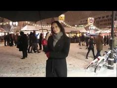 Video of Nuremberg, Germany in winter time at famous christmas market - with tons of snow :) - Nürnberger Christkindlesmarkt im Schnee und LeMeridien Grand (GERMAN LANGUAGE / DEUTSCH)