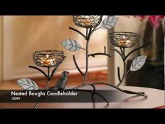 You can save 20% on select candle holders featured in our latest video! Visit our website at www.smartlivingcompany.com