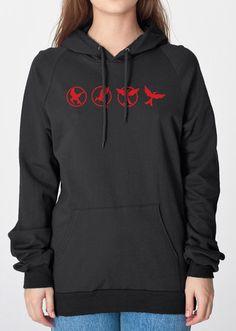Mockingjay Evolution Heavyweight Hoodie Sweatshirt