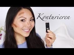Konturieren - Maybelline Fit me Foundation Stick - Demo - YouTube