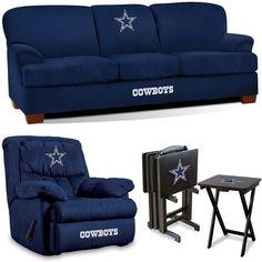 Dallas Cowboys NFL Premier Fan Cave Set