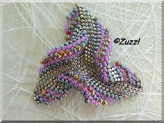 Beads - Twisted triangle Love this!!