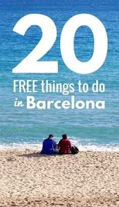 FREE things to do in Barcelona! Barcelona is a very budget-friendly city, but there are still many cheap attractions, museums, and free things to do in Barcelona for your coming holiday Oh The Places You'll Go, Places To Travel, Travel Destinations, Holiday Destinations, Malaga, Sitges, Barcelona Travel, Barcelona 2016, I Want To Travel
