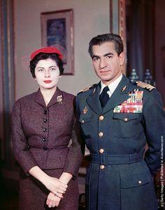 The Shah and Princess Soraya,