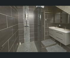 Salle de bains Gris/argent SENSEA