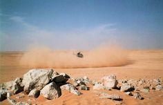 French Army Aérospatiale Gazelle, Operation Desert Storm.