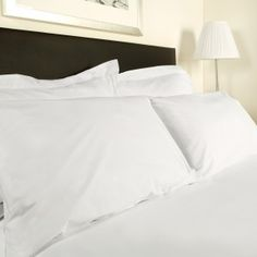 Cotton Percale Pillowcases are a 100% Cotton Percale for ultimate luxury. Our cotton percale uses fine yarns giving a luxurious feel as expected in the highest quality hotels. Our Cotton Pillowcases are available in four sizes. 200 thread count 115gsm. For other styles view our pillowcase page or alternatively visit our bed linen page to accessorize your bed.