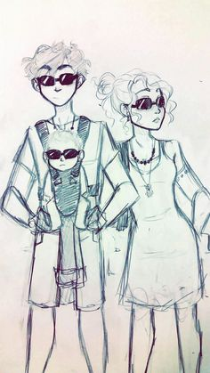 Percabeth and baby Jackson