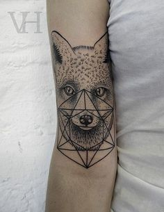 Fox tattoo / Valentin Hirsch