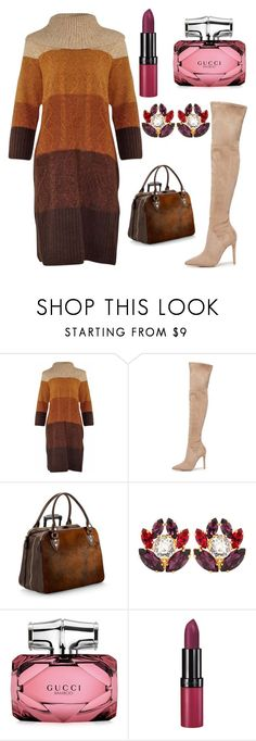 """""""💐💐💐"""" by olgakurganova ❤ liked on Polyvore featuring Kendall + Kylie, Aspinal of London, Dolce&Gabbana, Gucci and Rimmel"""