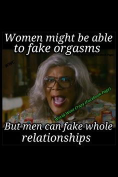 Madea funny fake orgasms and fake relationships