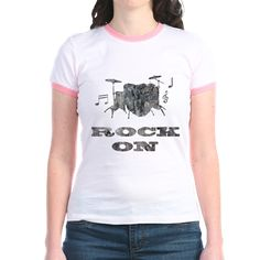 rock on drums T-Shirt