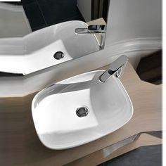Large basin sink for your bathroom, anyone? Keramik Design, Basin Sink, Bathroom Interior Design, Home Decor, Bathroom Ideas, Products, Bowl Sink, Showers, Hotels