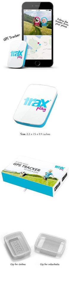 Tracking Devices: Trax Play - The Worlds Smallest And Lightest Real-Time Gps Tracker BUY IT NOW ONLY: $99.0