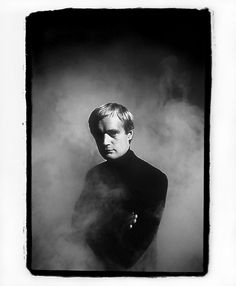 david mccallum by dennis hopper (196?) The swooningly cute Man From UNCLE and now on NCIS as Ducky, the coroner