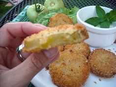 Mommy's Kitchen - Country Cooking & Family Friendly Recipes: Fried Green Tomatoes & A Giveaway Winner.