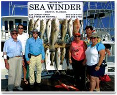 If you want a great Fishing Experience in Destin, Florida with a great captain, call Capt. Stan Phillips with the Charter Boat Seawinder