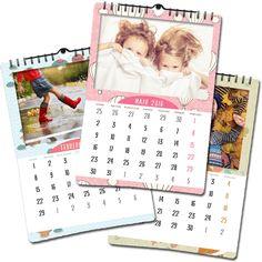 Calendarios de bebés e infantiles. Con diseños divertidos a la vez que elegantes. Pon las fotos preferidas de tus peques y verás que bonitos quedan. #dpbook #calendarios2016 www.dpbook.es