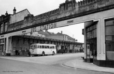 Falkirk bus station pre 1962