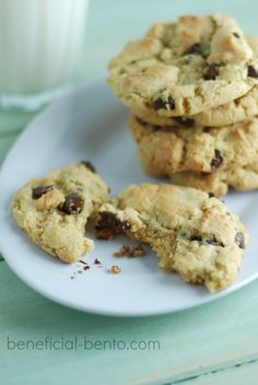 I originally posted this recipe back on May 25, 2012. I decided to update some of the photos and links and share it with you again – my family's all time favorite chocolate chip cookie recipe!   I have worked on perfecting this one for many years. I used to make these with bean flour, and... Read More »